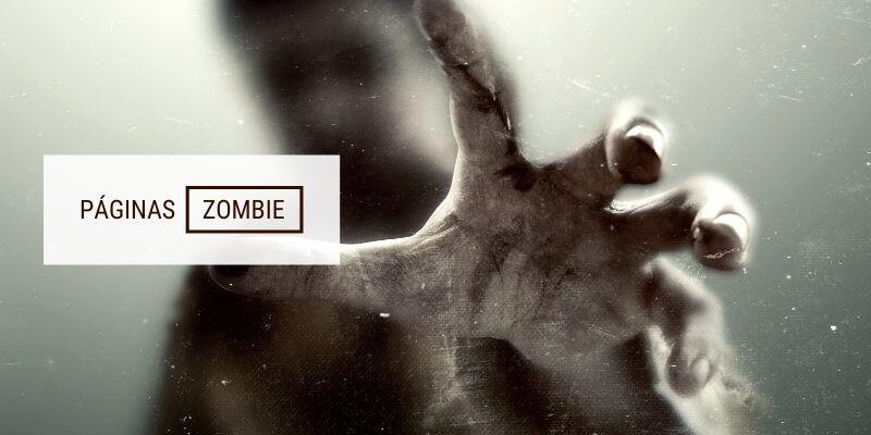 Páginas zombie